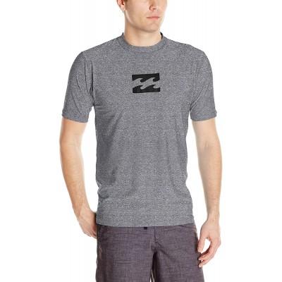 Billabong Men's Classic Loose Fit Short Sleeve Rashguard Surf Tee Shirt