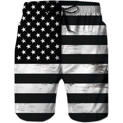 uideazone Men Swim Trunks Drawstring Elastic Waist Quick Dry Beach Shorts with Mesh Lining Swimwear Bathing Suits |