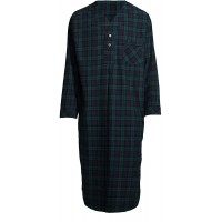 Stafford - Men's Flannel Nightshirt at  Men's Clothing store