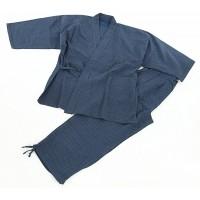 Edoten Men's Japan Ninjya Kimonoquilted clothes Sasiko Samue at  Men's Clothing store
