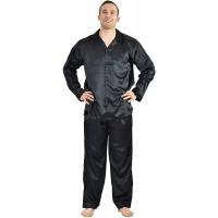 Up2date Fashion Men's Satin PJ Set at  Men's Clothing store