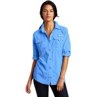 Columbia Women's PFG Bahama Long Sleeve Shirt at  Women's Clothing store